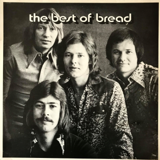Bread - The Best Of Bread (LP) (VG-/G-VG)